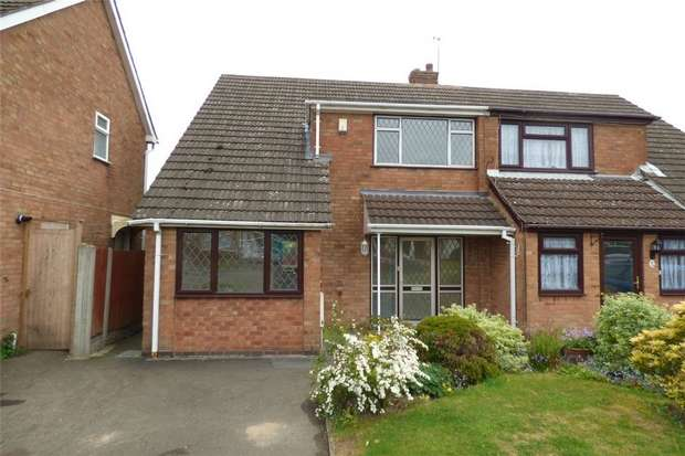 4 Bedrooms Semi Detached House for sale in Portland Drive, Stockingford, Nuneaton, Warwickshire