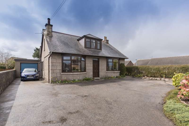 4 Bedrooms Detached House for sale in Oldmeldrum Road, Newmachar, Aberdeenshire, AB21 0PJ