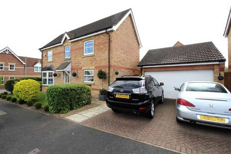 4 Bedrooms Detached House for sale in Verity Way, Driffield, East Yorkshire