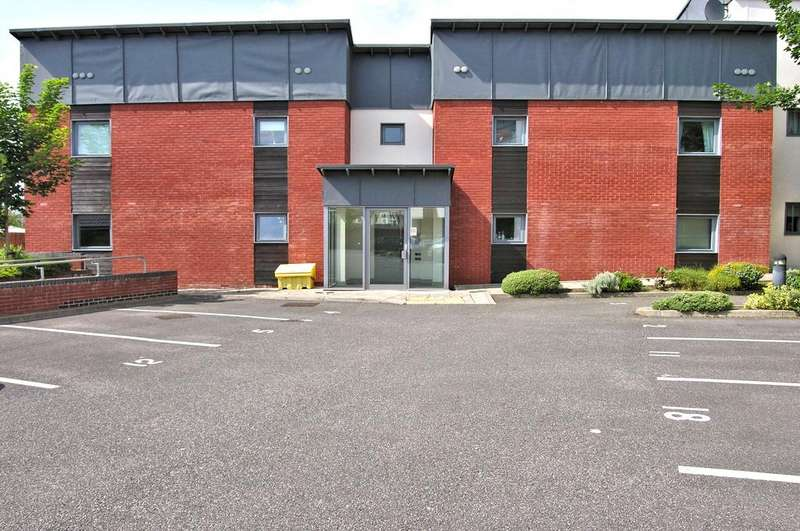 2 Bedrooms Apartment Flat for sale in MARSH HOUSE, MARSH STREET, STAFFORD ST16