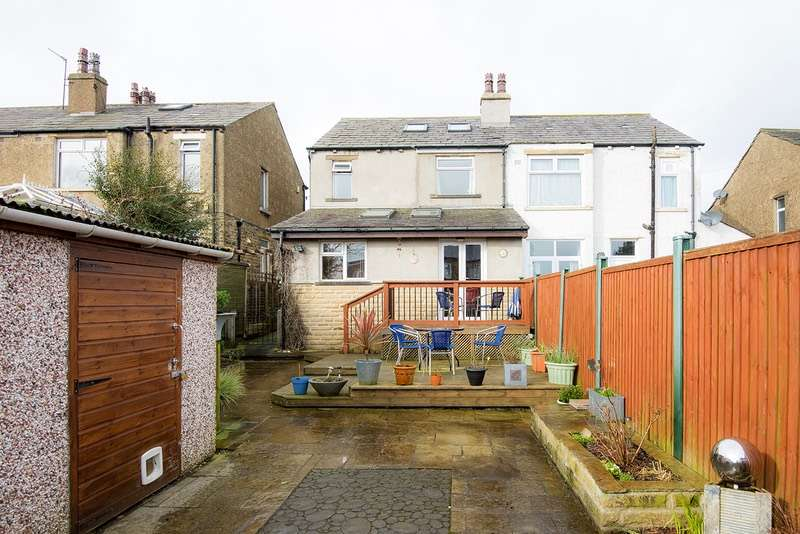 3 Bedrooms Semi Detached House for sale in WOODHOUSE LANE, BRIGHOUSE, West Yorkshire, HD6