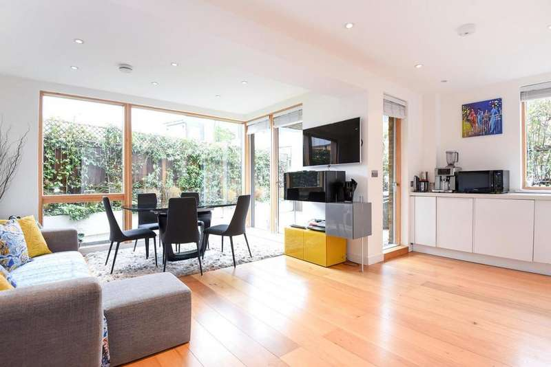 2 Bedrooms Flat for sale in North End Road, Fulham, SW6