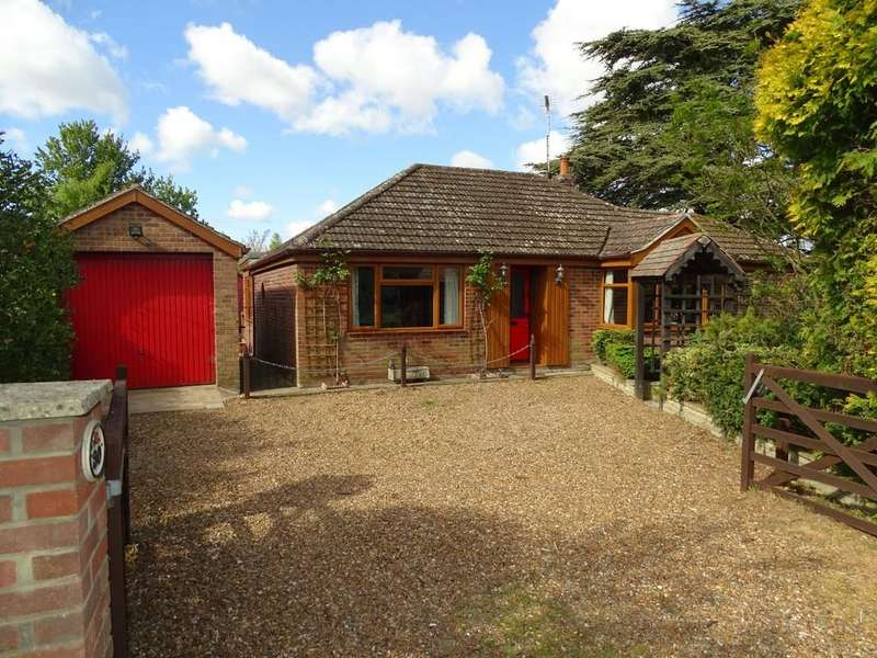 2 Bedrooms Detached Bungalow for sale in Hereward Way, Weeting