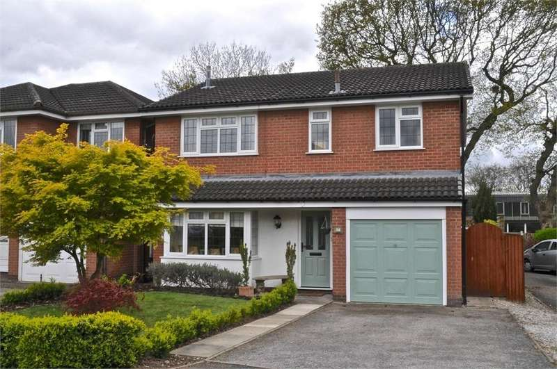 4 Bedrooms Detached House for sale in Betley Close, Northwich, Cheshire