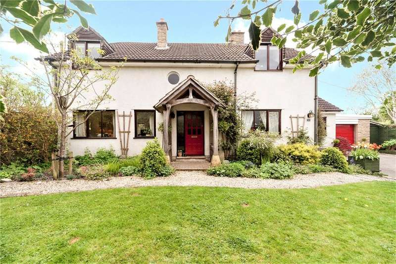 4 Bedrooms Detached House for sale in The Street, Cherhill, Calne, Wiltshire, SN11