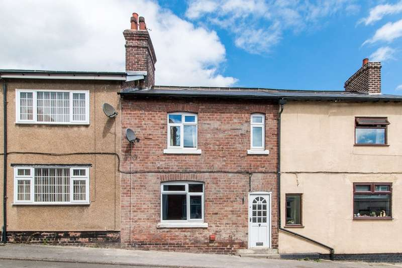 2 Bedrooms Terraced House for sale in Midland Terrace, Barrow Hill, Chesterfield