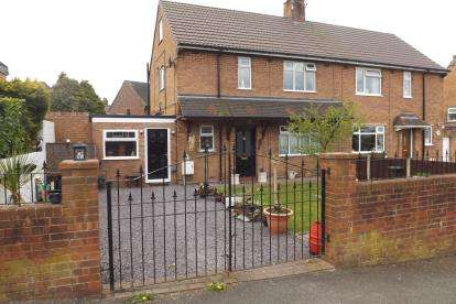 3 Bedrooms Semi Detached House for sale in Chester Road, Audley, Stoke-on-Trent, Staffordshire