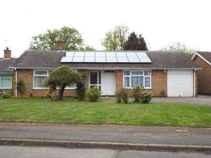 3 Bedrooms Bungalow for sale in Landscape Drive, Evington, Leicester, Leicestershire