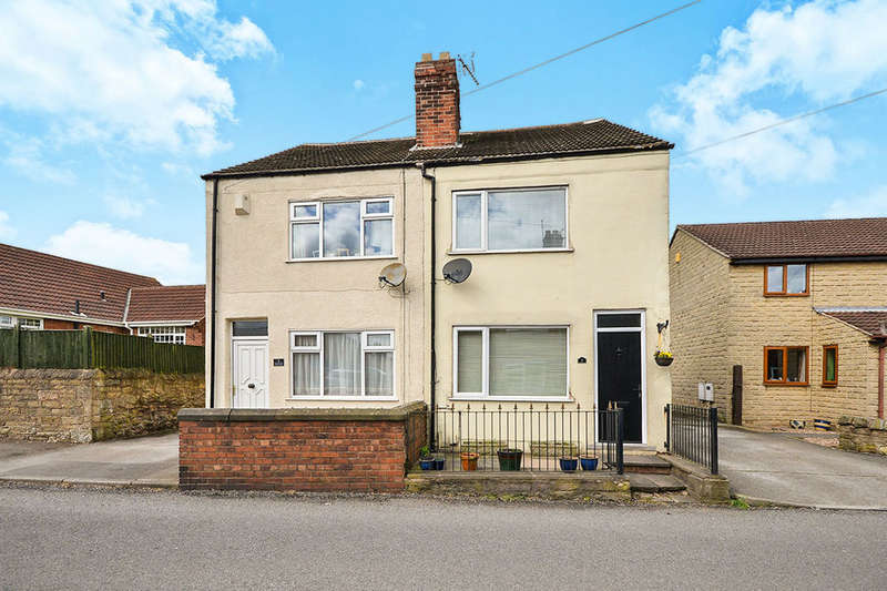 3 Bedrooms Semi Detached House for sale in Pleasley Road, Skegby, Sutton-In-Ashfield, NG17