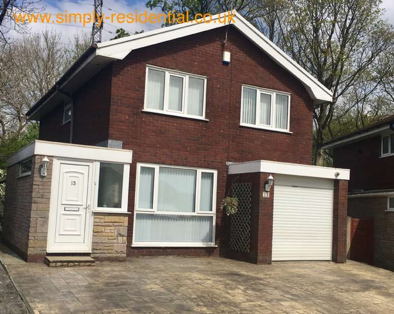 4 Bedrooms Detached House for sale in House for sale at Woburn Ave Hall 'ith Wood Bolton