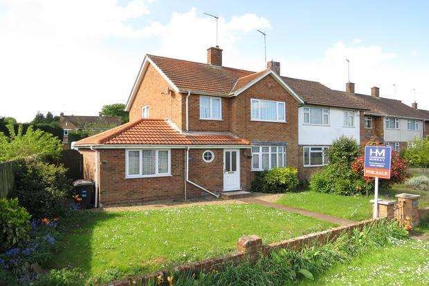 3 Bedrooms Semi Detached House for sale in Harlestone Road, Duston, NN5