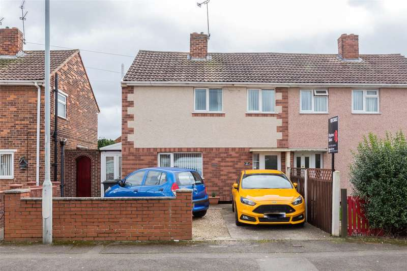 3 Bedrooms Semi Detached House for sale in Pipering Lane, Doncaster, DN5