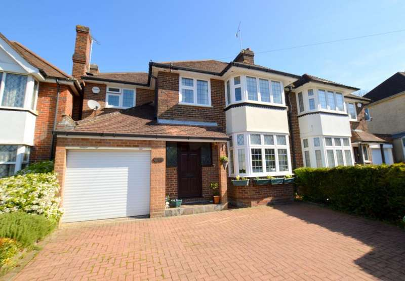 4 Bedrooms Semi Detached House for sale in Knoll Rise, Luton, LU2 7JA
