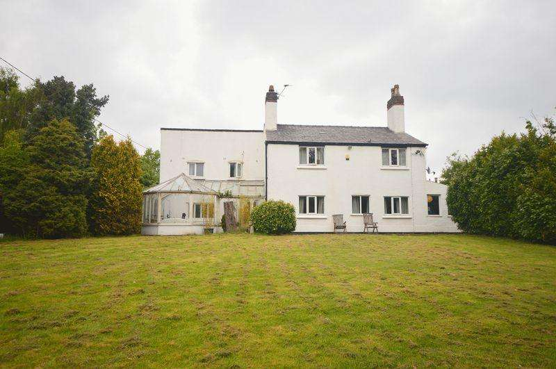 4 Bedrooms Detached House for sale in Water Lane, Tarbock Green
