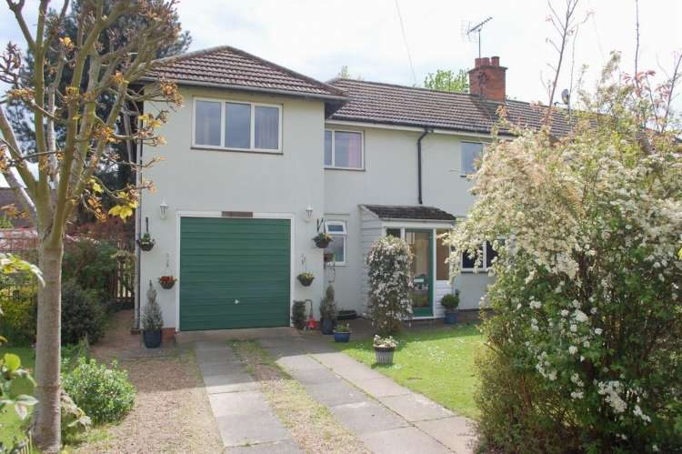 4 Bedrooms Semi Detached House for sale in Millers Close Welford On Avon Stratford Upon Avon