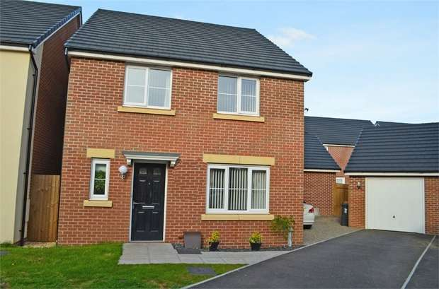 4 Bedrooms Detached House for sale in Obama Grove, Rogerstone, Newport