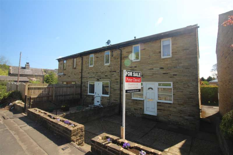 3 Bedrooms End Of Terrace House for sale in Glenfield Place, Off Burnley Road, Sowerby Bridge