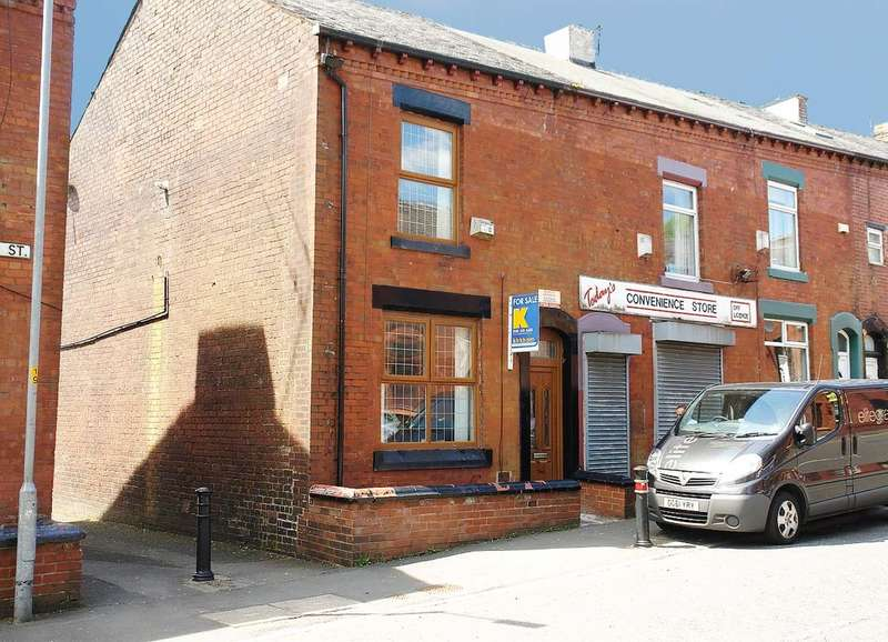 2 Bedrooms End Of Terrace House for sale in 189 Horsedge Street, Oldham