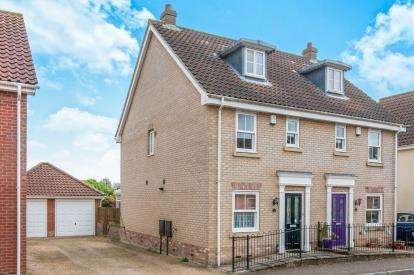 3 Bedrooms Semi Detached House for sale in Watton, Thetford, Norfolk