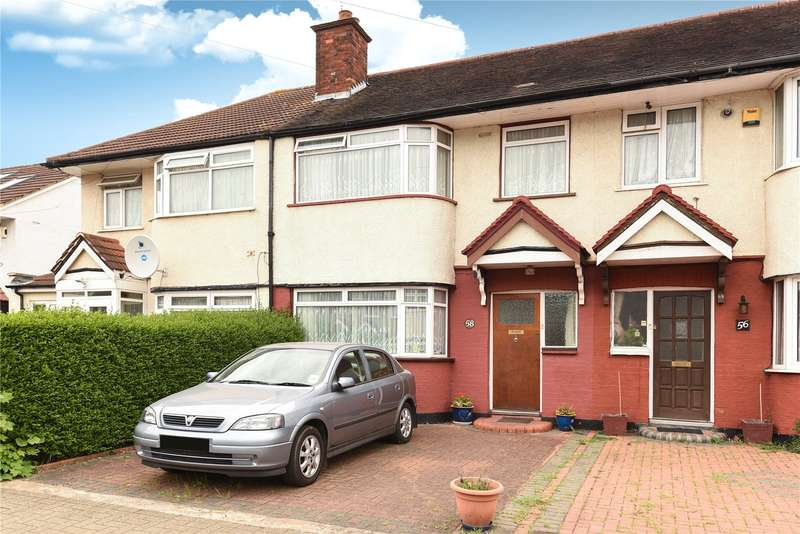 3 Bedrooms Terraced House for sale in Leamington Crescent, Harrow, Middlesex, HA2