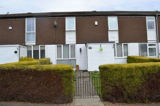 3 Bedrooms Terraced House for sale in Churchill Avenue, Lake View, Northampton NN3 6NY