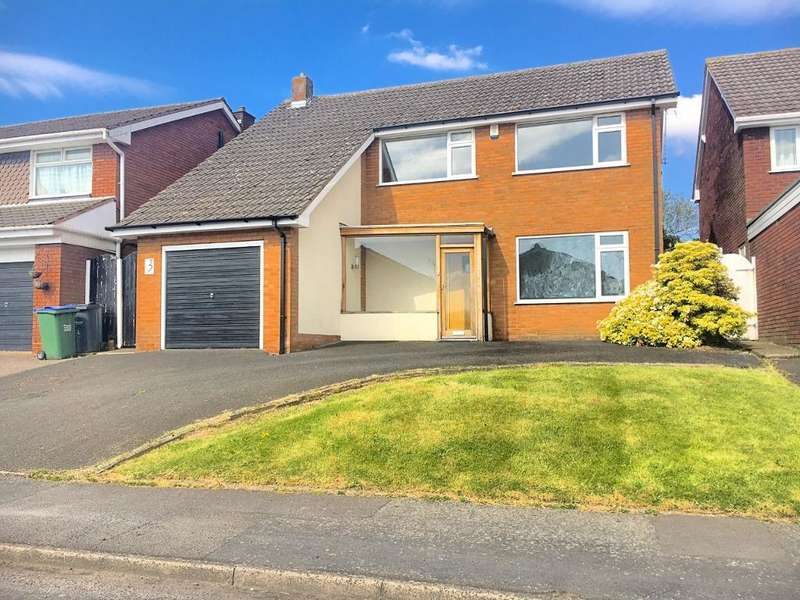 3 Bedrooms Detached House for sale in HOPKINS DRIVE, WEST BROMWICH, B71 3RR