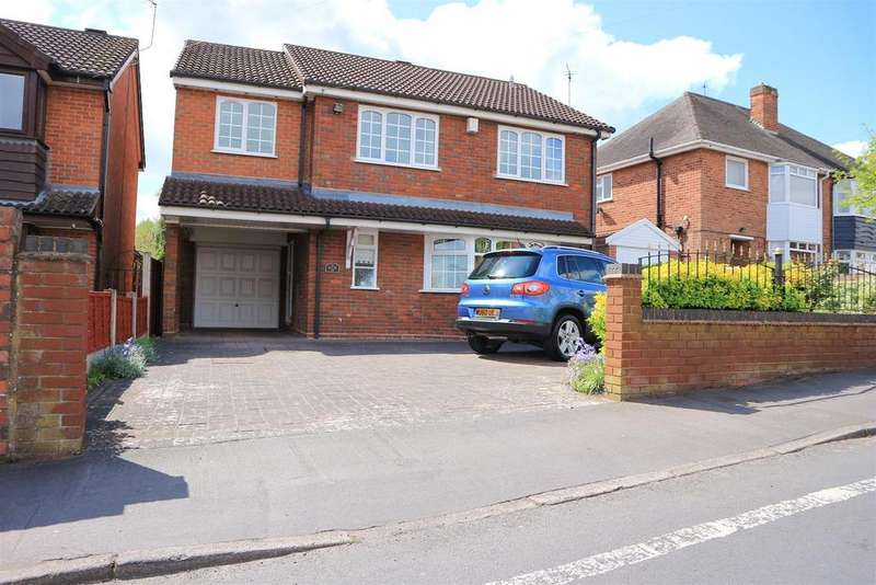 4 Bedrooms Detached House for sale in Gregory Road, Stourbridge