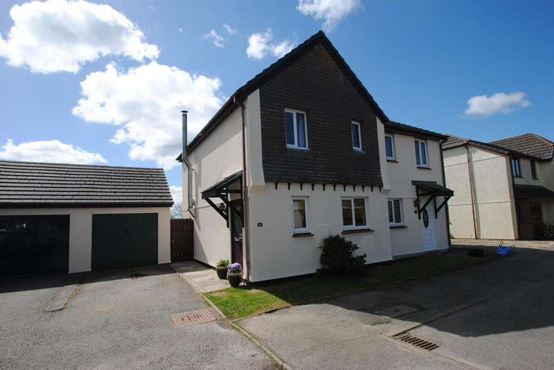 3 Bedrooms Semi Detached House for sale in Trelinnoe Gardens, South Petherwin