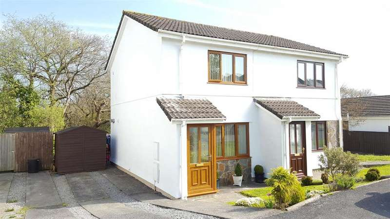 2 Bedrooms Semi Detached House for sale in Hendre Park, Llangennech, Llanelli