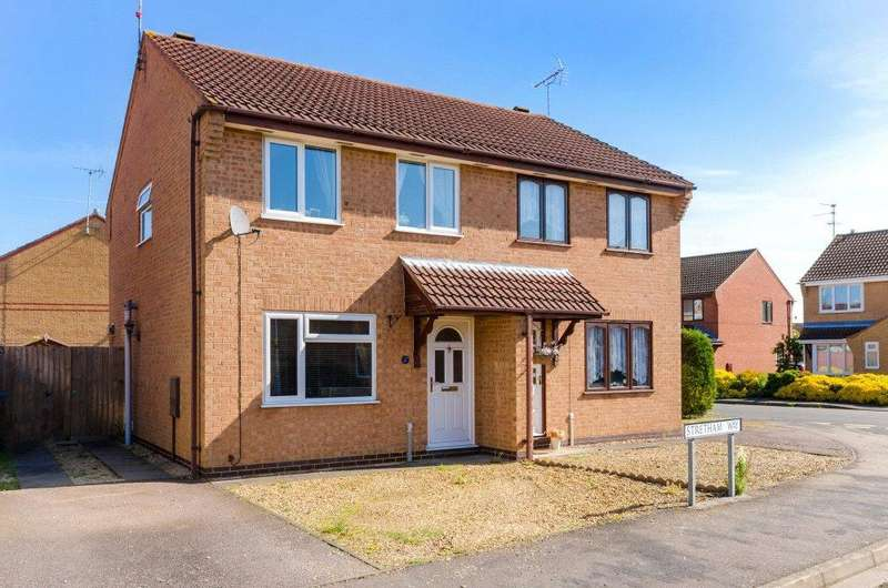 3 Bedrooms Semi Detached House for sale in Stretham Way, Bourne, PE10