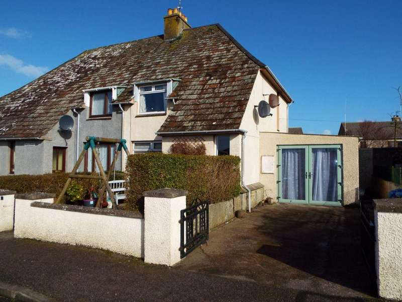 2 Bedrooms Semi Detached House for sale in 2 Traill Street, Castletown
