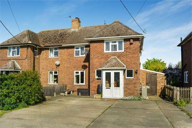 4 Bedrooms Semi Detached House for sale in Station Road, Quainton, Buckinghamshire. HP22 4BT