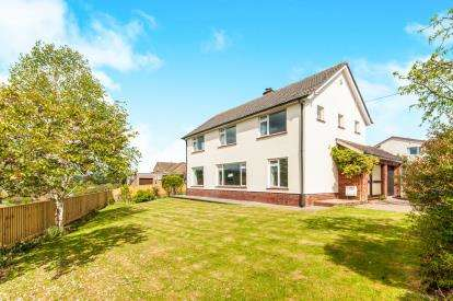 4 Bedrooms Detached House for sale in Tiverton, Devon, N/A