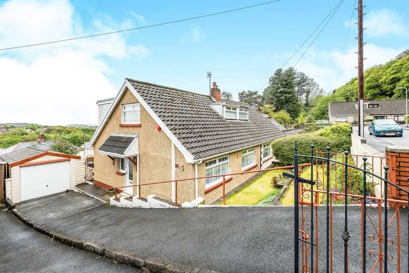 3 Bedrooms Semi Detached Bungalow for sale in Park Crescent, Skewen, Neath