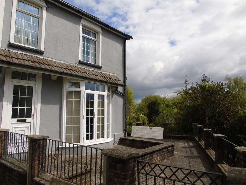 4 Bedrooms End Of Terrace House for sale in Heath Terrace, Graigwen, Pontypridd
