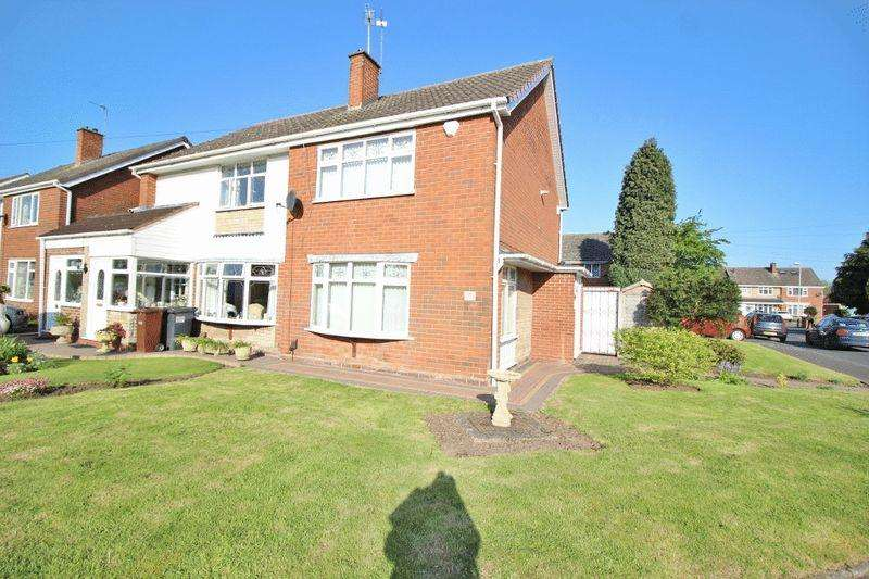 2 Bedrooms Semi Detached House for sale in Southfield Road, Wednesfield