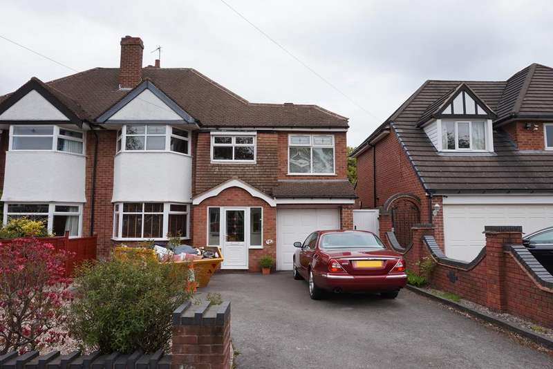 5 Bedrooms Semi Detached House for sale in Kingslea Road, Solihull, B91 1TP