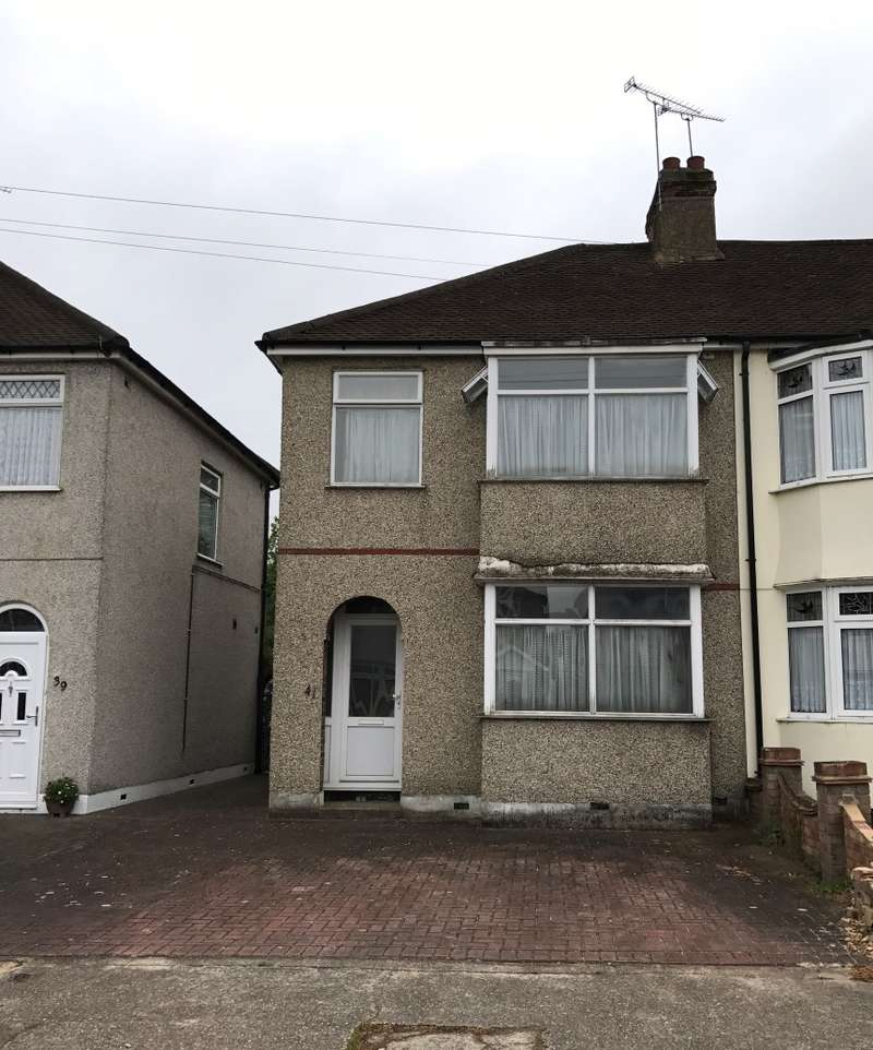 2 Bedrooms End Of Terrace House for sale in Bridport Avenue, Romford, Essex, RM7 9HL
