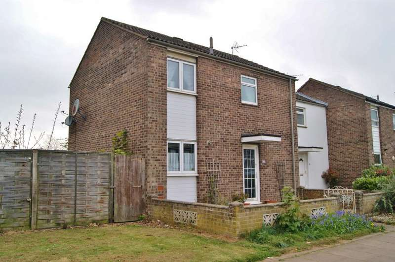 2 Bedrooms End Of Terrace House for sale in Caie Walk, Bury St Edmunds IP33