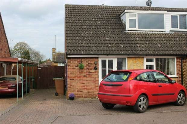 3 Bedrooms Semi Detached House for sale in Thirlmere Close, Daventry, Northamptonshire