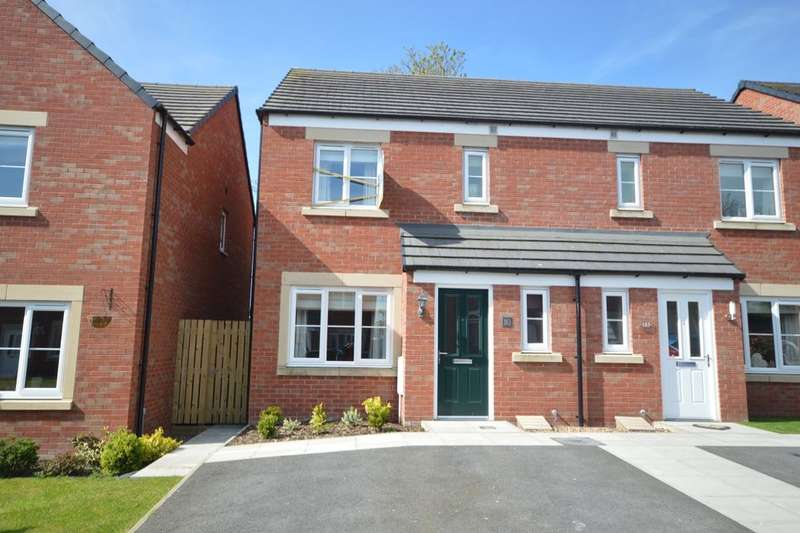 3 Bedrooms Semi Detached House for sale in Church Meadows, Great Broughton, Cockermouth, CA13