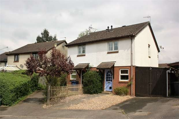 2 Bedrooms Semi Detached House for sale in St Peters Gardens, Wrecclesham, FARNHAM, Surrey