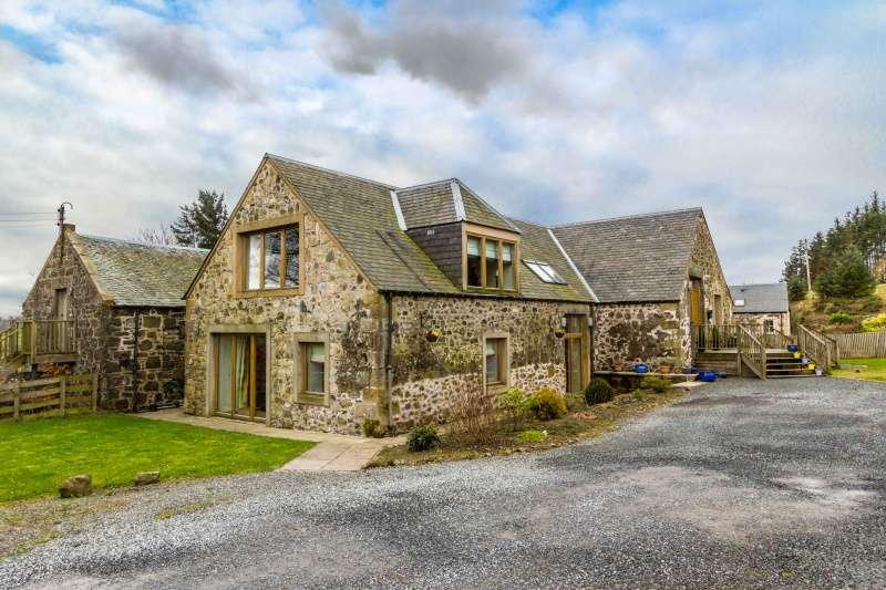5 Bedrooms Farm House Character Property for sale in Steading, Candy, Glenfarg, Perthshire, PH2 9QL