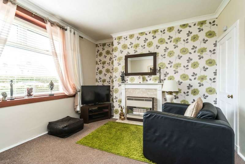 2 Bedrooms Ground Flat for sale in Stenhouse Avenue West, Stenhouse, Edinburgh, EH11 3ER