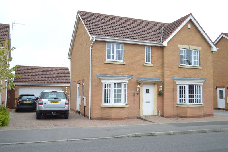 4 Bedrooms Detached House for sale in 4 Derwent Gardens, Bridlington, East Riding of Yorkshire