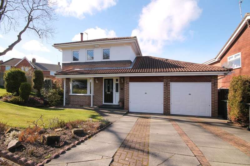 4 Bedrooms Detached House for sale in Briarside, Blackhill, Consett, DH8