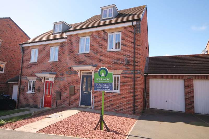 3 Bedrooms Semi Detached House for sale in Deepdale Drive, Delves Lane, Consett, DH8