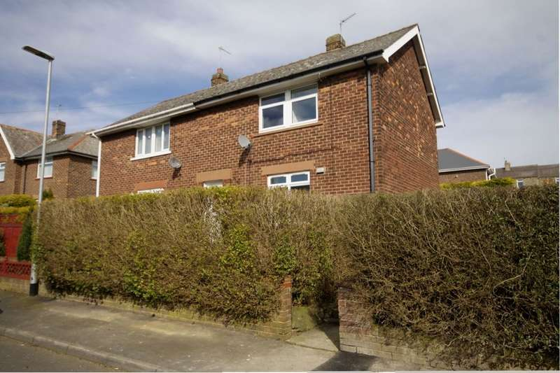 2 Bedrooms Semi Detached House for sale in Willow Crescent, Leadgate, Consett, DH8