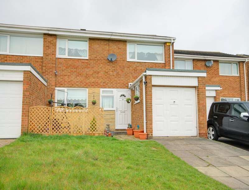 3 Bedrooms Semi Detached House for sale in Chatton Close, Chester Le Street, DH2