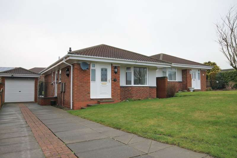2 Bedrooms Detached Bungalow for sale in Flodden Close, Chester Le Street, DH2